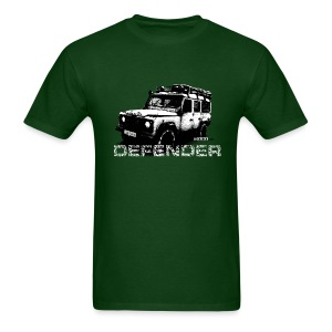 Distressed Land Rover Defender illustration - Men's T-Shirt