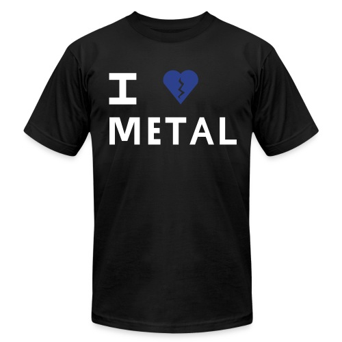 Elliott Smith I broken heart Metal - Men's Fine Jersey T-Shirt