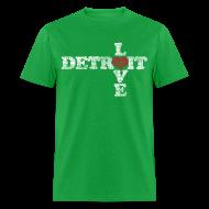 T-Shirts ~ Men's T-Shirt ~ Love Detroit