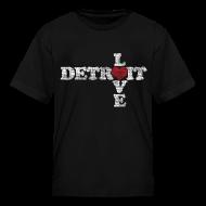 Kids' Shirts ~ Kids' T-Shirt ~ Love Detroit