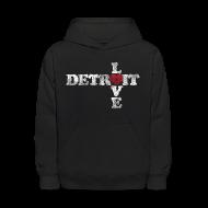 Sweatshirts ~ Kids' Hoodie ~ Love Detroit