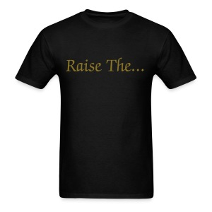 R.T.J.R Let It Be Raised (click to see back) - Men's T-Shirt