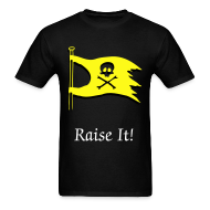T-Shirts ~ Men's T-Shirt ~ Raise It! Flag Tee