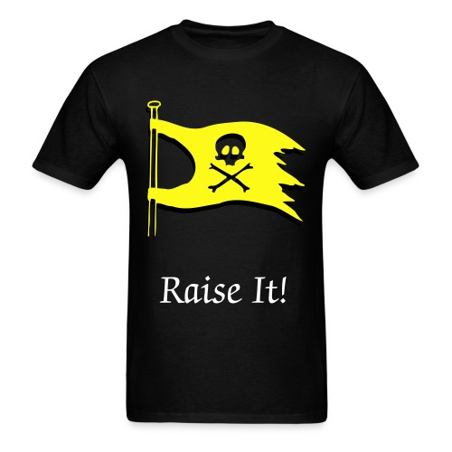 Raise It! Flag Tee - Men's T-Shirt