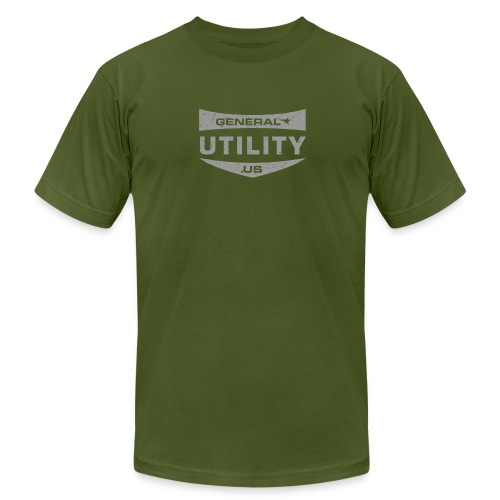 GU Shield Gray - Men's Fine Jersey T-Shirt