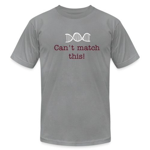 Cant Match This - Mens's Slate T - Men's Fine Jersey T-Shirt