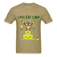 T-Shirts ~ Men's T-Shirt ~ Lets Eat Cake