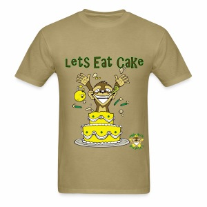 Lets Eat Cake - Men's T-Shirt