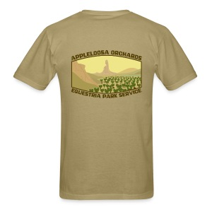 Appleloosa Orchards (front & back) - Men's T-Shirt