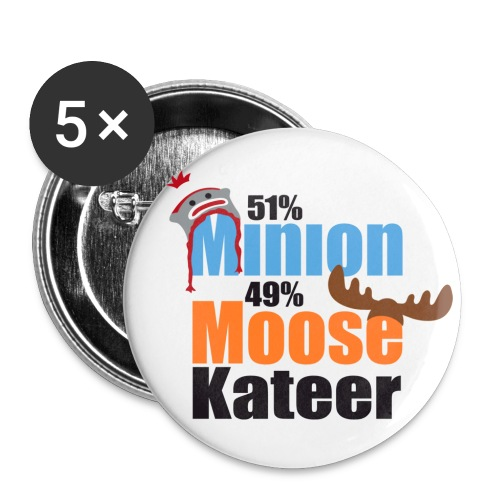 51% Minion 49% MooseKateer - Small Buttons