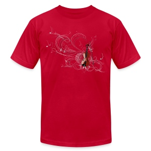 Harmonic Fiddle - Men's T-Shirt by American Apparel