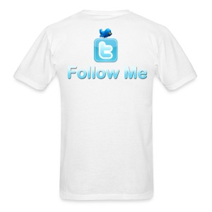 Follow Me (Design on back) - Men's T-Shirt