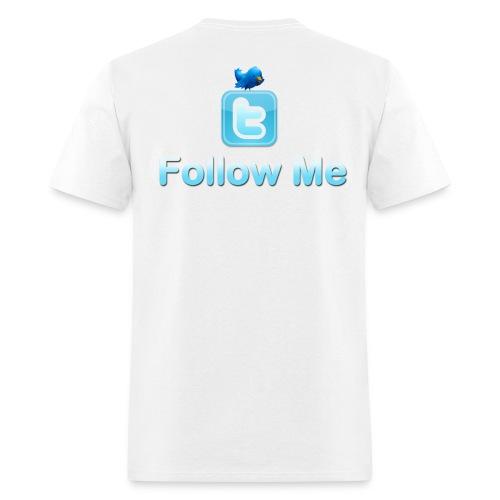 Follow Me (Design on back) - Men's T-Shirt