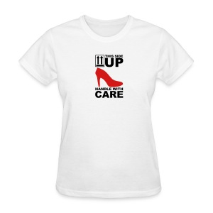 this side up - Women's T-Shirt