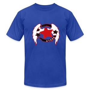 Super Starr - Men's T-Shirt by American Apparel