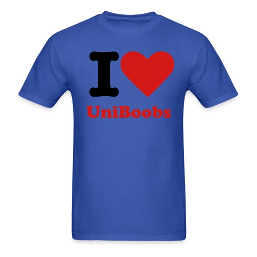 UniBoob - Men's T-Shirt
