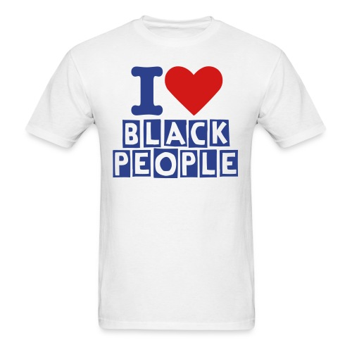 black people - Men's T-Shirt