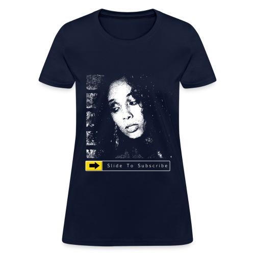 BkAngel310 Slide To Subscribe - Women's T-Shirt