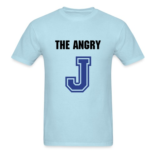 The Angry J - Men's T-Shirt