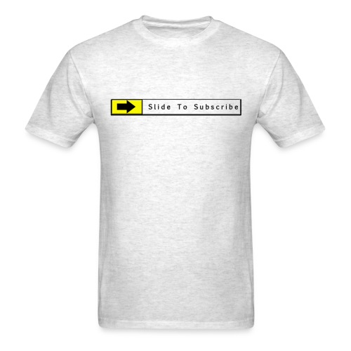 Slide To Subscribe - Men's T-Shirt