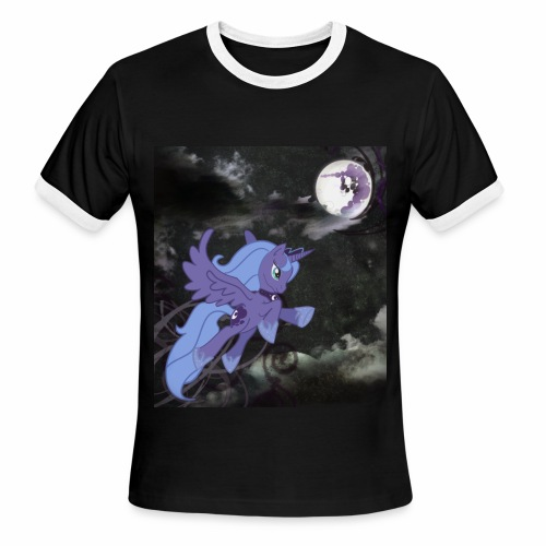 Luna Tee (Ringer tee) - Men's Ringer T-Shirt