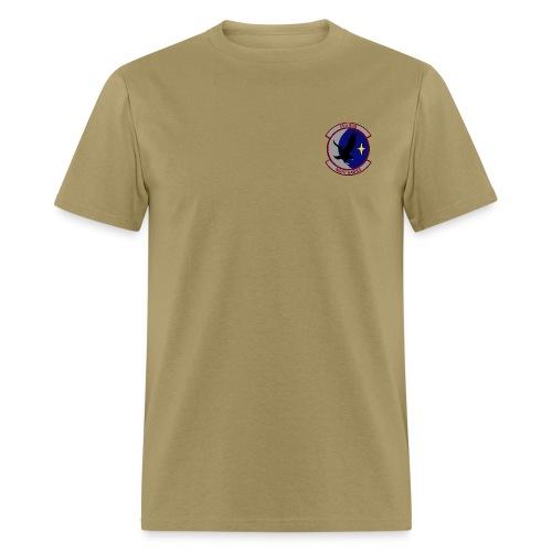 55th RQS NIGHT HAWKS  AIR FORCE RESCUE tan - Men's T-Shirt
