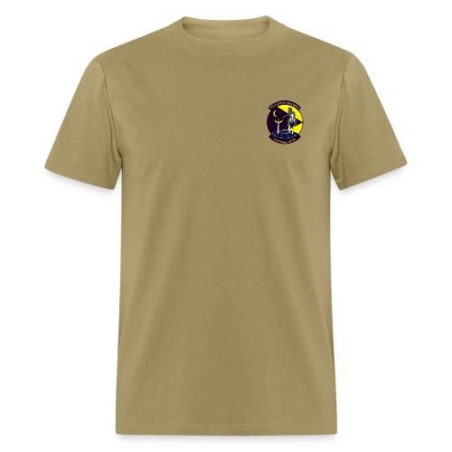 79th Rescue Squadron AIR FORCE RESCUE tan - Men's T-Shirt