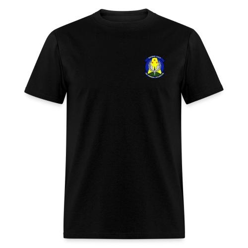 563rd OSS AIR FORCE RESCUE Black - Men's T-Shirt