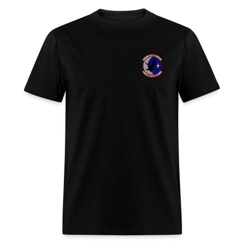 55th RQS NIGHT HAWKS  AIR FORCE RESCUE black - Men's T-Shirt