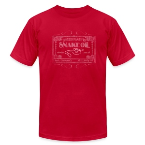 Snake Oil - Men's T-Shirt by American Apparel