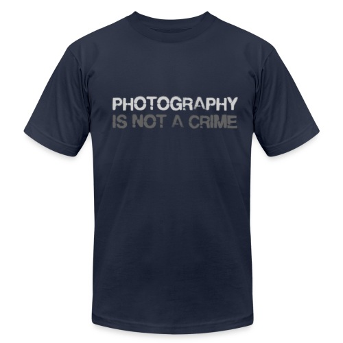 Photography is not a crime - Men's Fine Jersey T-Shirt