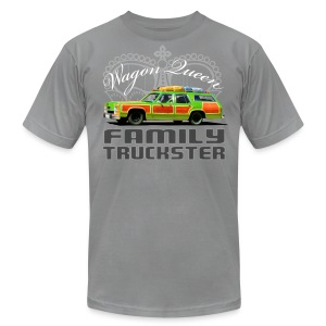 Family Truckster - Men's T-Shirt by American Apparel
