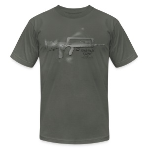 Famas Last Words - Men's T-Shirt by American Apparel