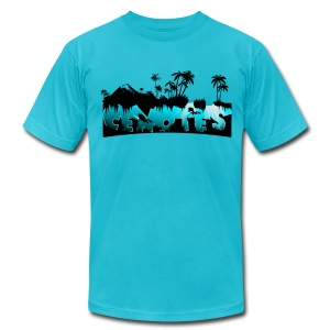 Cenotes - Men's T-Shirt by American Apparel