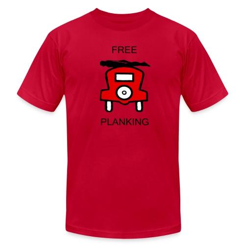 Free Planking - Men's Fine Jersey T-Shirt