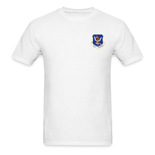23rd Wing Rescue white - Men's T-Shirt
