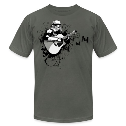 StrumTrooper - Men's T-Shirt by American Apparel