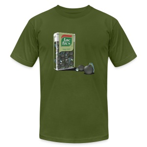 Tactics - Strong mints - Men's T-Shirt by American Apparel