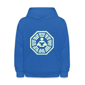 DHARMA Initiative Station: The Reader (Glow-In-The-Dark) - Kids' Hoodie