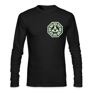 DHARMA Initiative Station: The Reader (Glow-In-The-Dark) - Men's Long Sleeve T-Shirt by Next Level