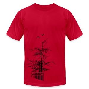U.P.Tree Code - Men's Fine Jersey T-Shirt