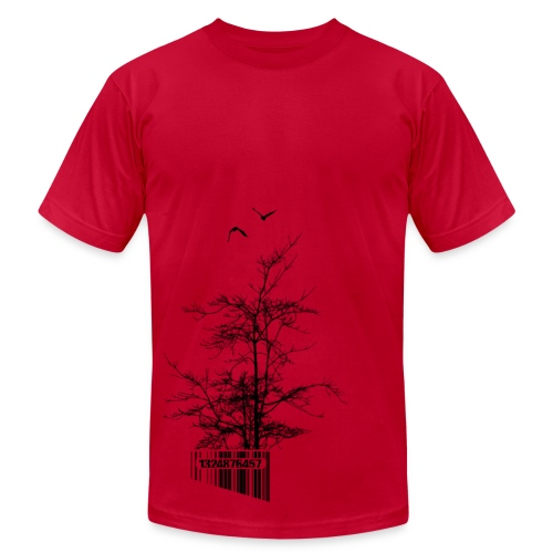 U.P.Tree Code - Men's T-Shirt by American Apparel