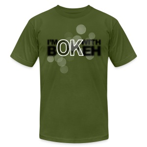 I'm ok with bokeh! - Men's Fine Jersey T-Shirt