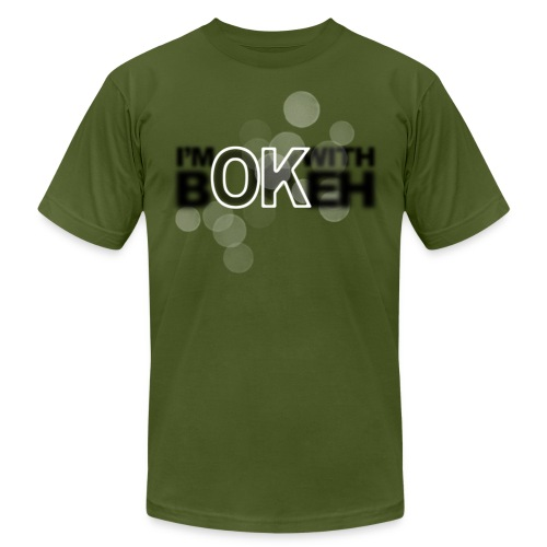 I'm ok with bokeh! - Men's T-Shirt by American Apparel