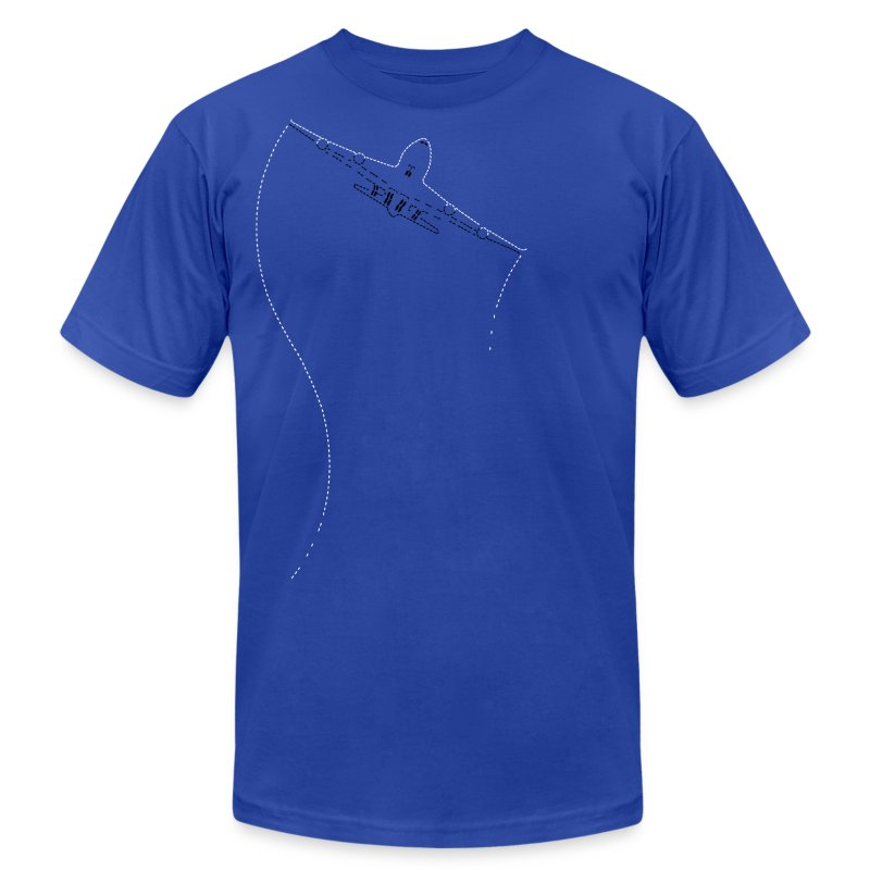 Jet Stitched - Men's T-Shirt by American Apparel