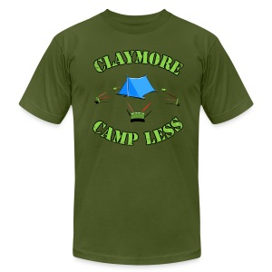 Claymore Camp less - Men's T-Shirt by American Apparel