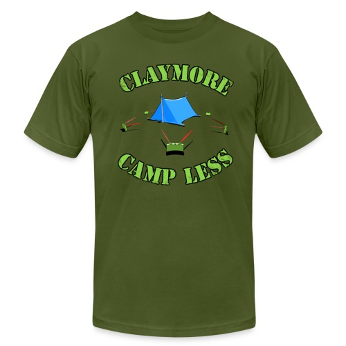 Claymore Camp less - Men's Fine Jersey T-Shirt