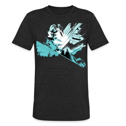 Alpine Vintage  - Unisex Tri-Blend T-Shirt
