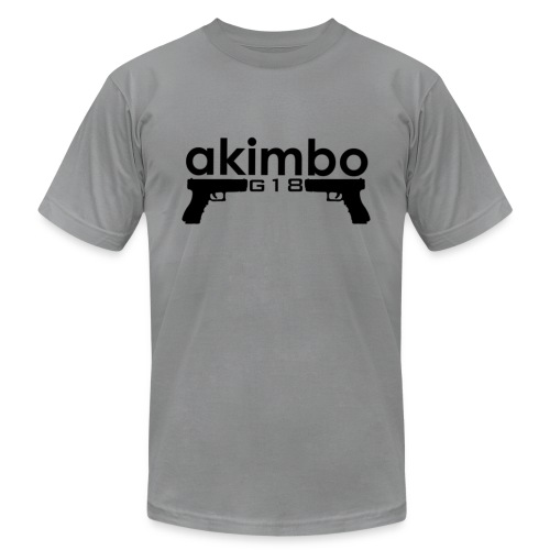 Akimbo G18's - Men's T-Shirt by American Apparel
