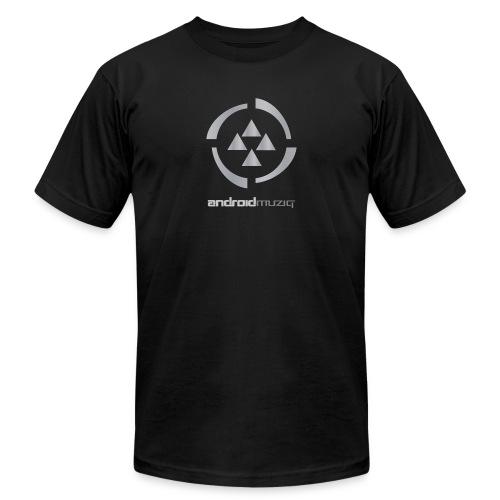 Android Muziq Black - Men's  Jersey T-Shirt
